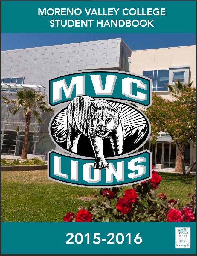MVC Student Handbook 2015-16