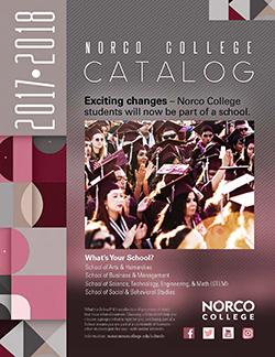 Norco College Catalog 2017-2018