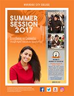 Riverside Community College District Schedule of Classes Summer 2017