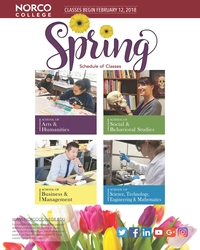 Riverside Community College District Schedule of Classes Spring 2018