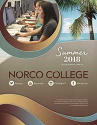 Riverside Community College District Schedule of Classes Summer 2018