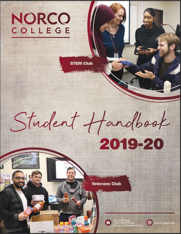 Norco College Student Handbook 2019-20