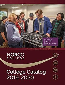 Norco College Catalog 2019-2020