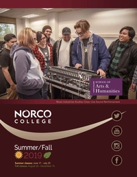 Riverside Community College District Schedule of Classes Summer / Fall 2019