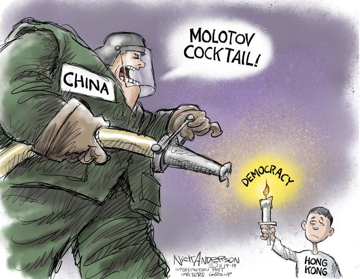 Poltical cartoon by Nick Anderson