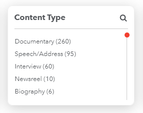 content type filter