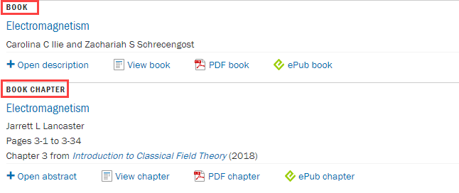 red boxes around book and chapter results