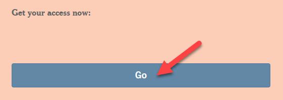 Screenshot of off-campus go button.