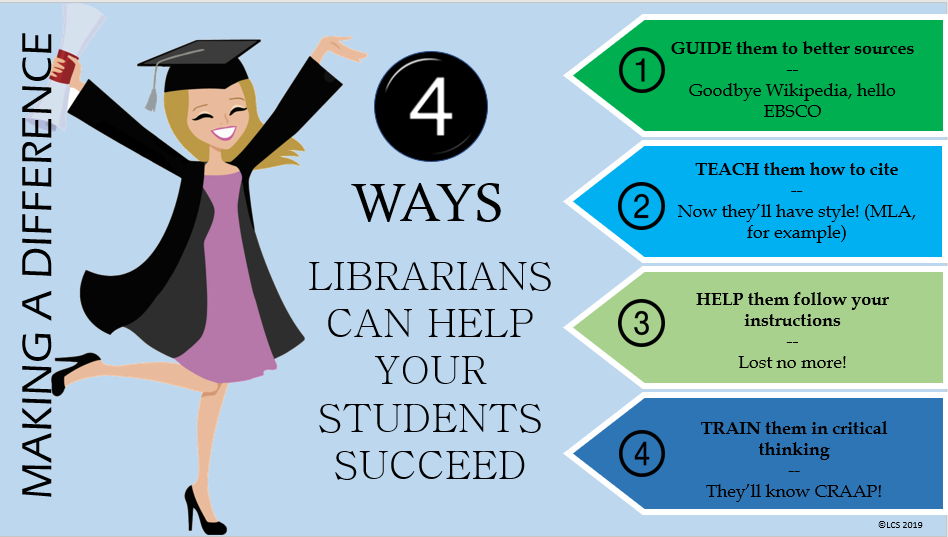4 ways librarians can help students succeed