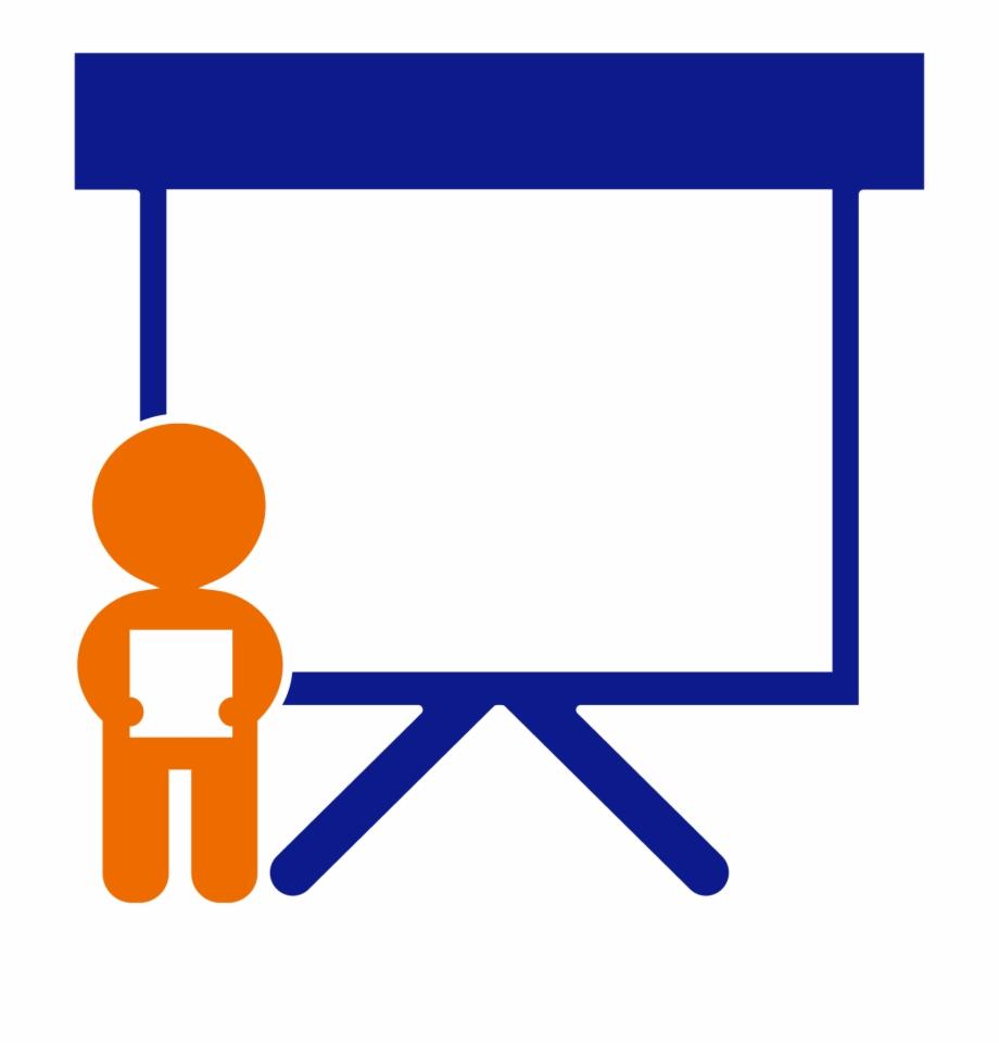 illustration depicting a presentation