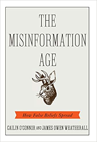 The Misinformation Age book cover