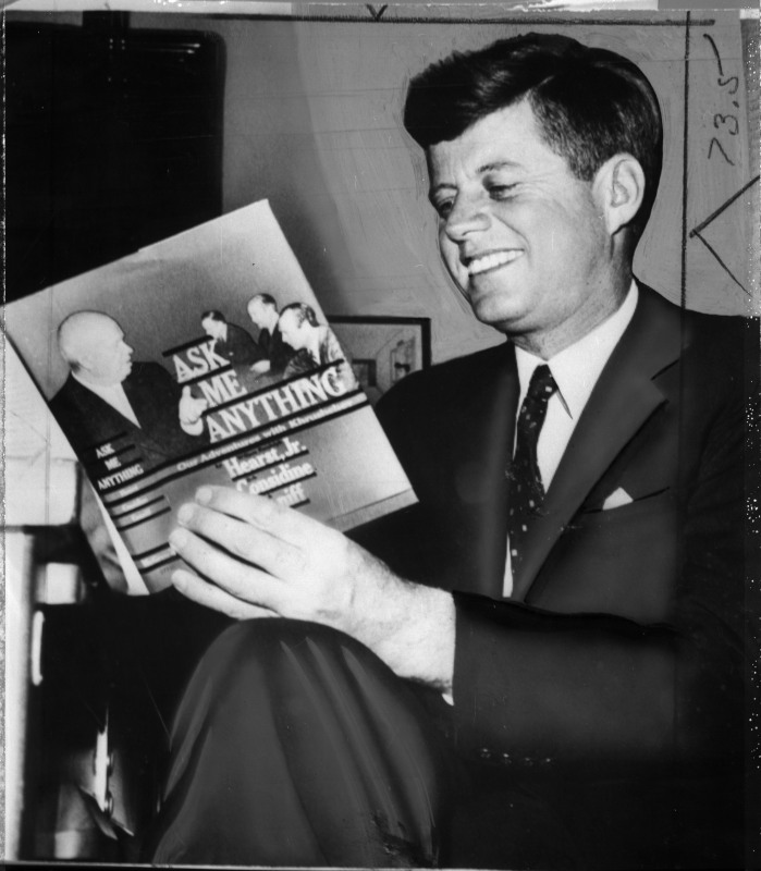 Senator John F. Kennedy, June 9, 1960. Washington, D.C.