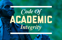 Code of Academic Integrity