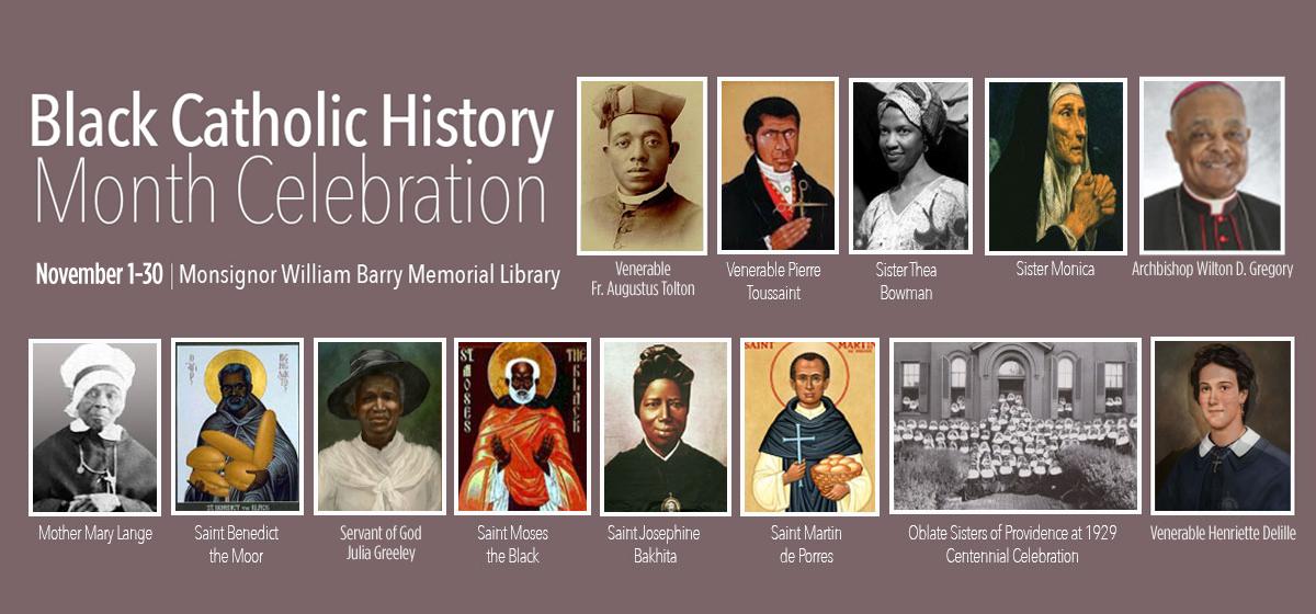 Notable Black Catholics