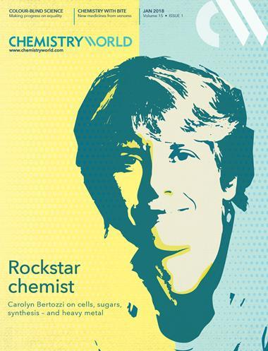 cover of the magazine Chemistry World