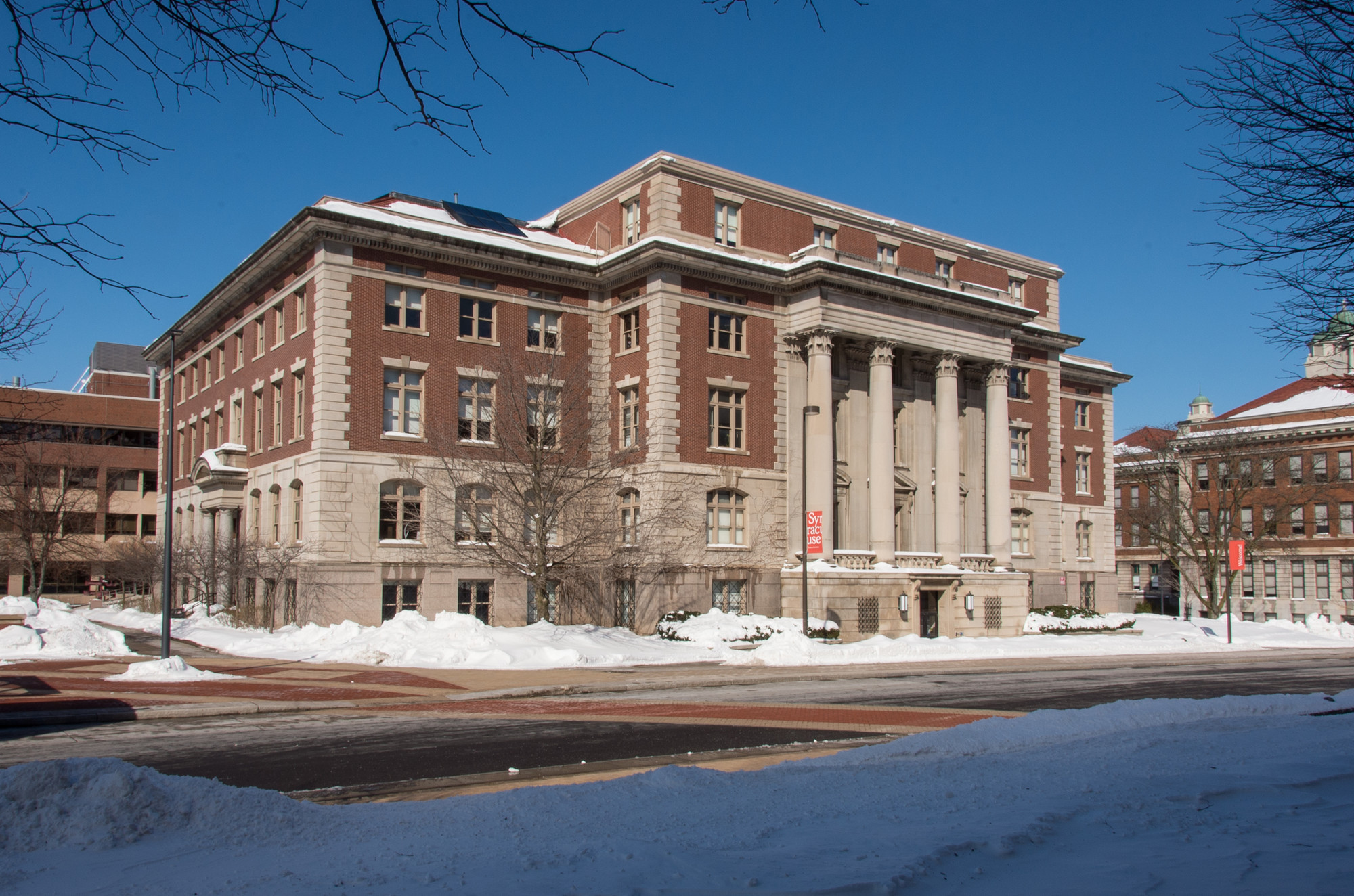 Slocum Hall Exterior, March 2017, Image by Stephen F Sartori