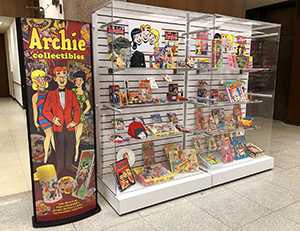 Archie Collectibles Display