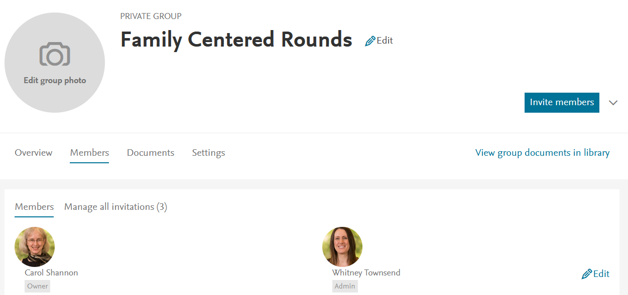 Mendeley Groups page