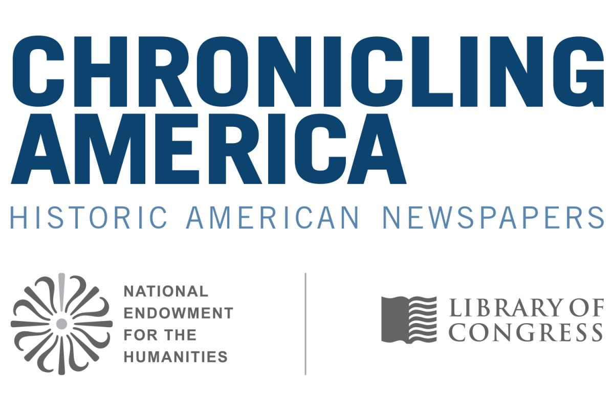 Library of Congress Chronicling America logo