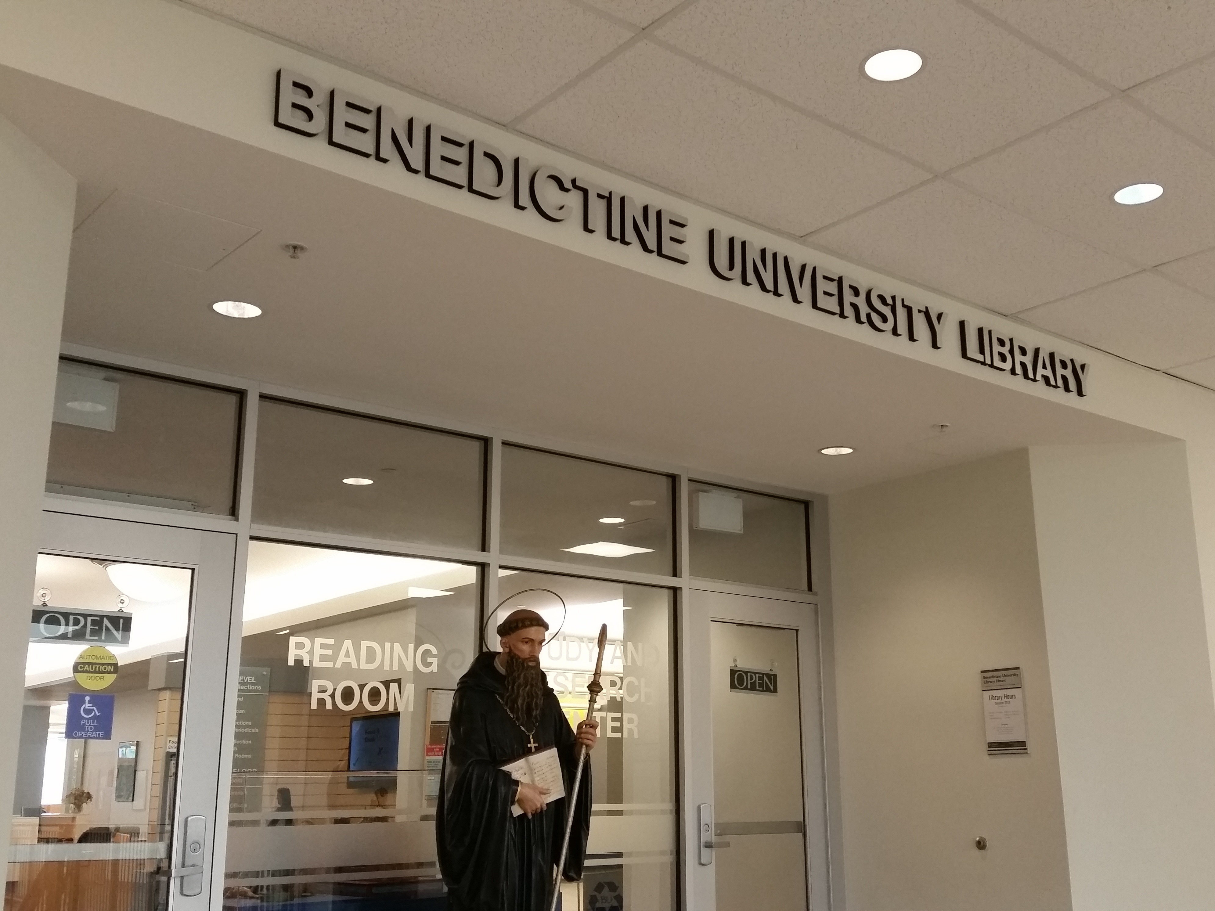 library 2nd floor entrance