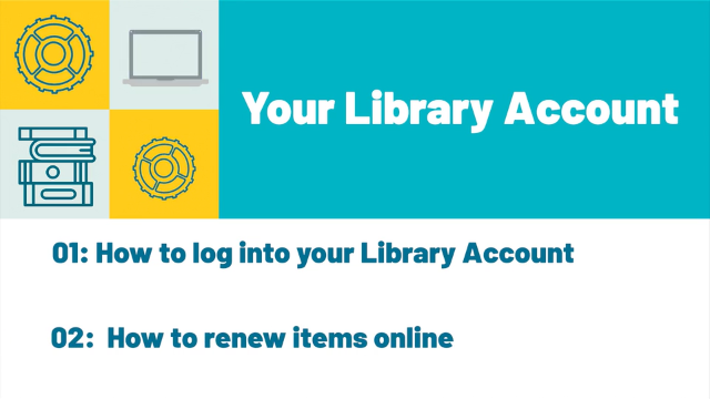 Your Account tutorial image