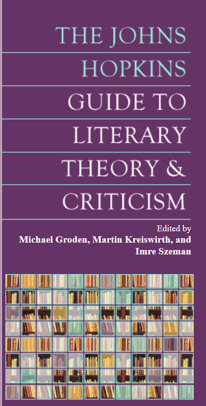 Image of Johns Hopkins Guide to Literary Theory