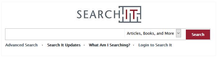SearchIt search bar