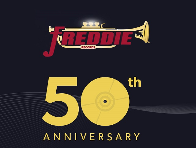 Image of promotion for the Freddie Records 50th Anniversary Celebration