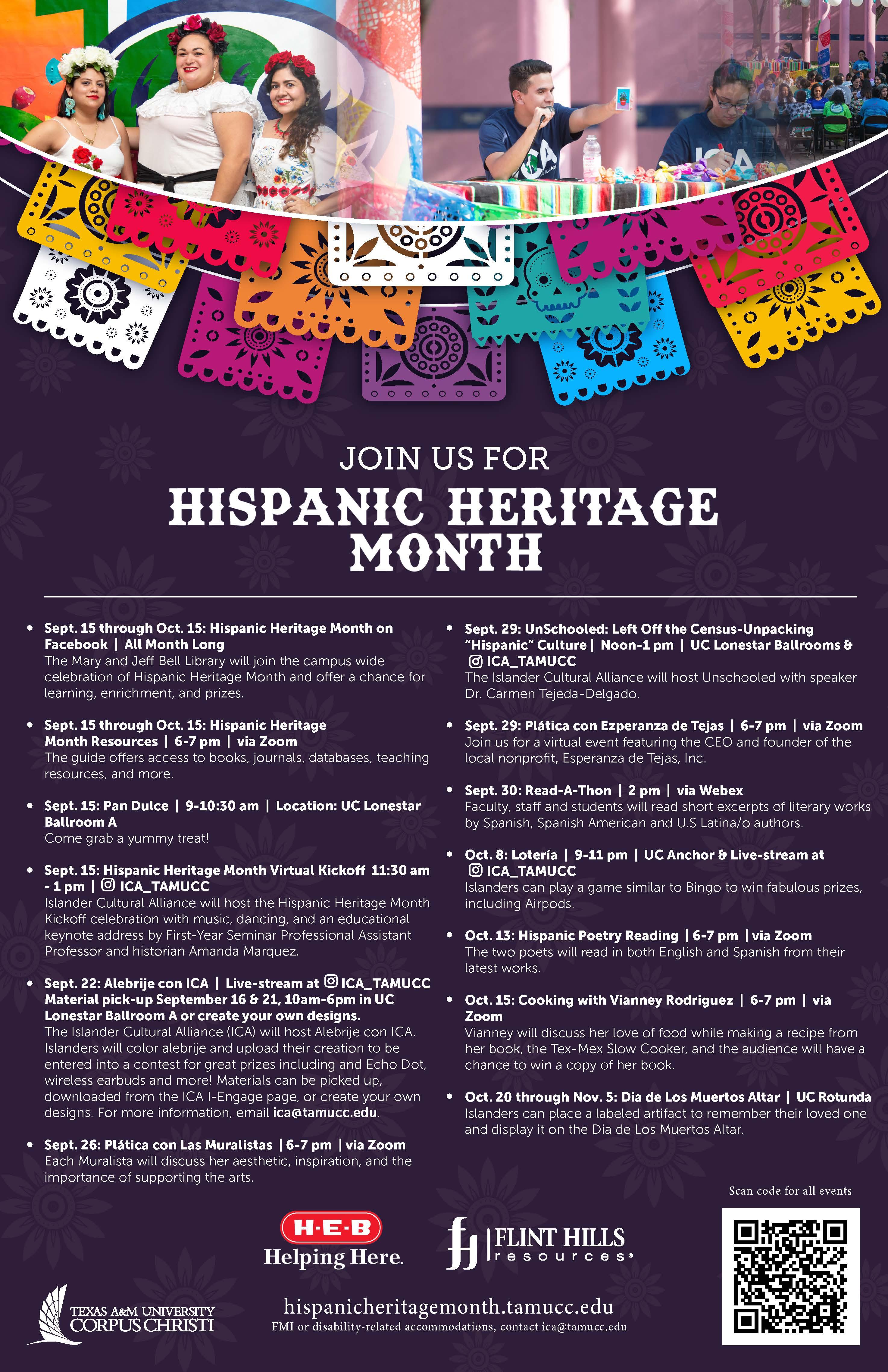 Hispanic Heritage Month celebration - promotional image