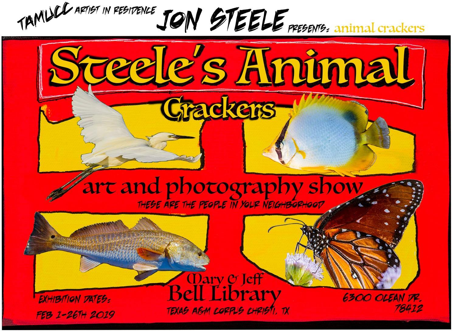 Jon Steele's Animal Crackers