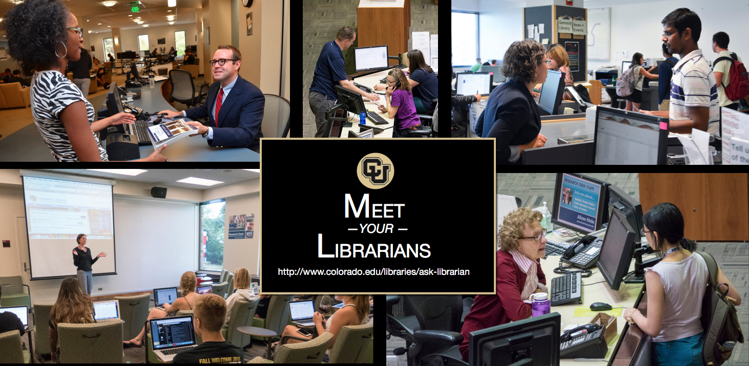 Meet your librarians
