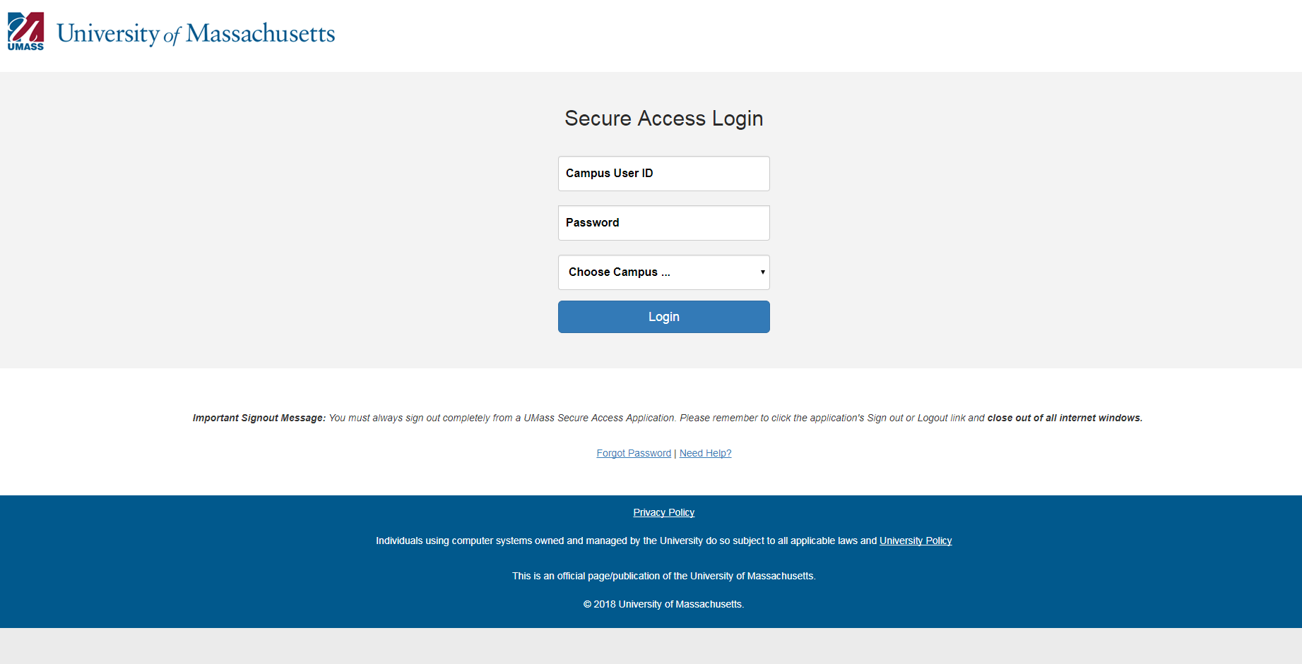 Healey Library Login for Remote Access