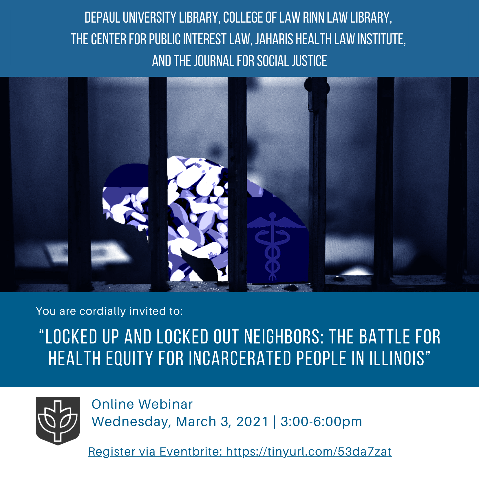 Locked Up and Locked Out Event Invite