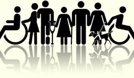 Image of Figures Representing Various Disabilities and Universal Design - From University of Buffalo at http://www.buffalo.edu/access/help-and-support/topic3.html