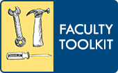 Faculty Toolkit Button