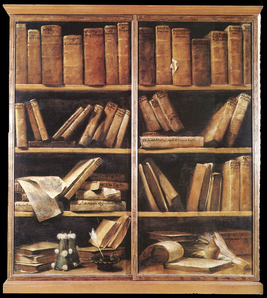 Giuseppe Maria Crespi - Bookshelves