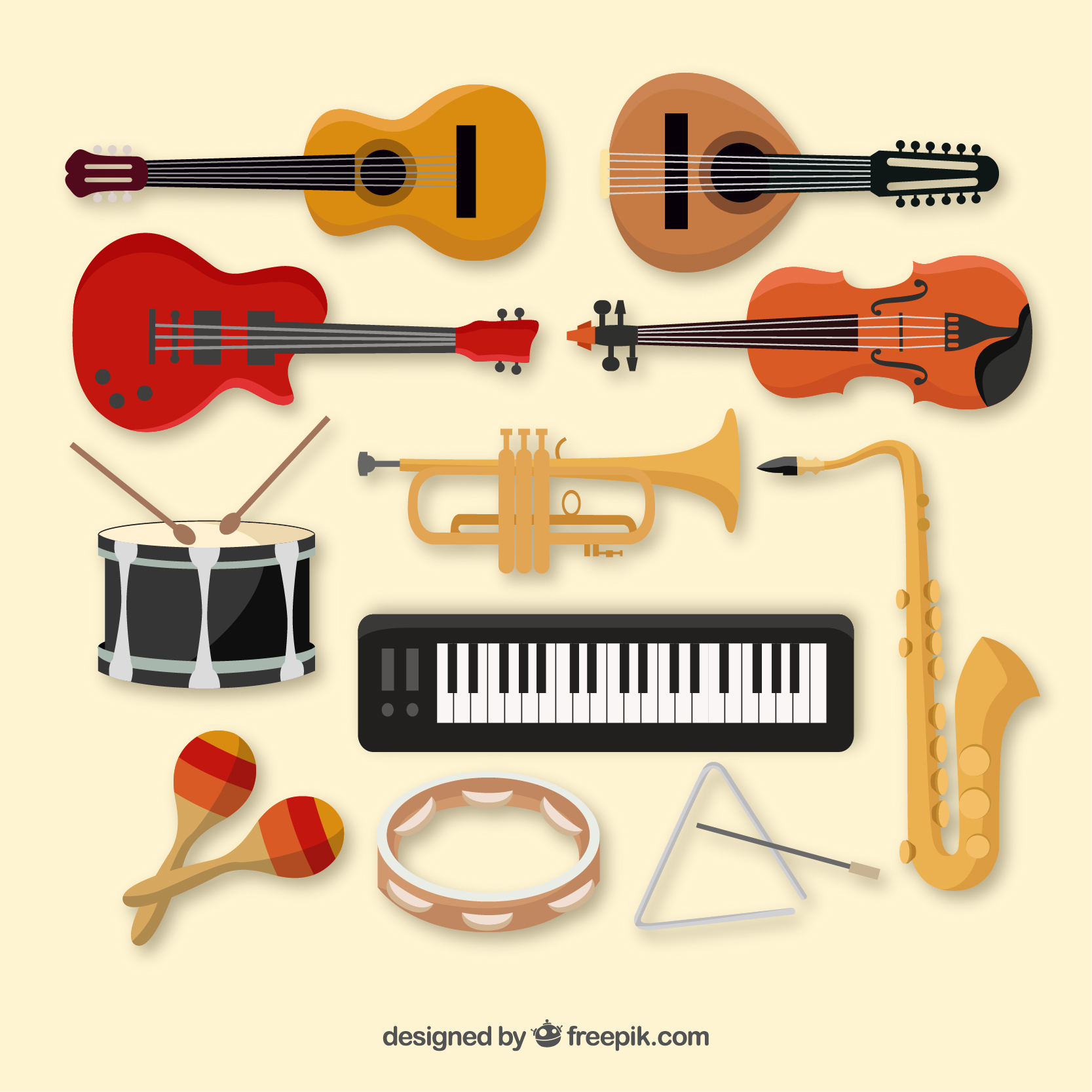 group of instruments