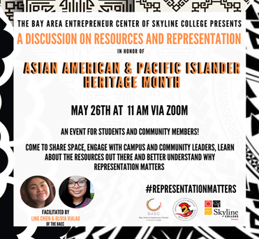 BAEC Celebrates Asian American and Pacific Islander Heritage Month -- May 26th 11:00 am