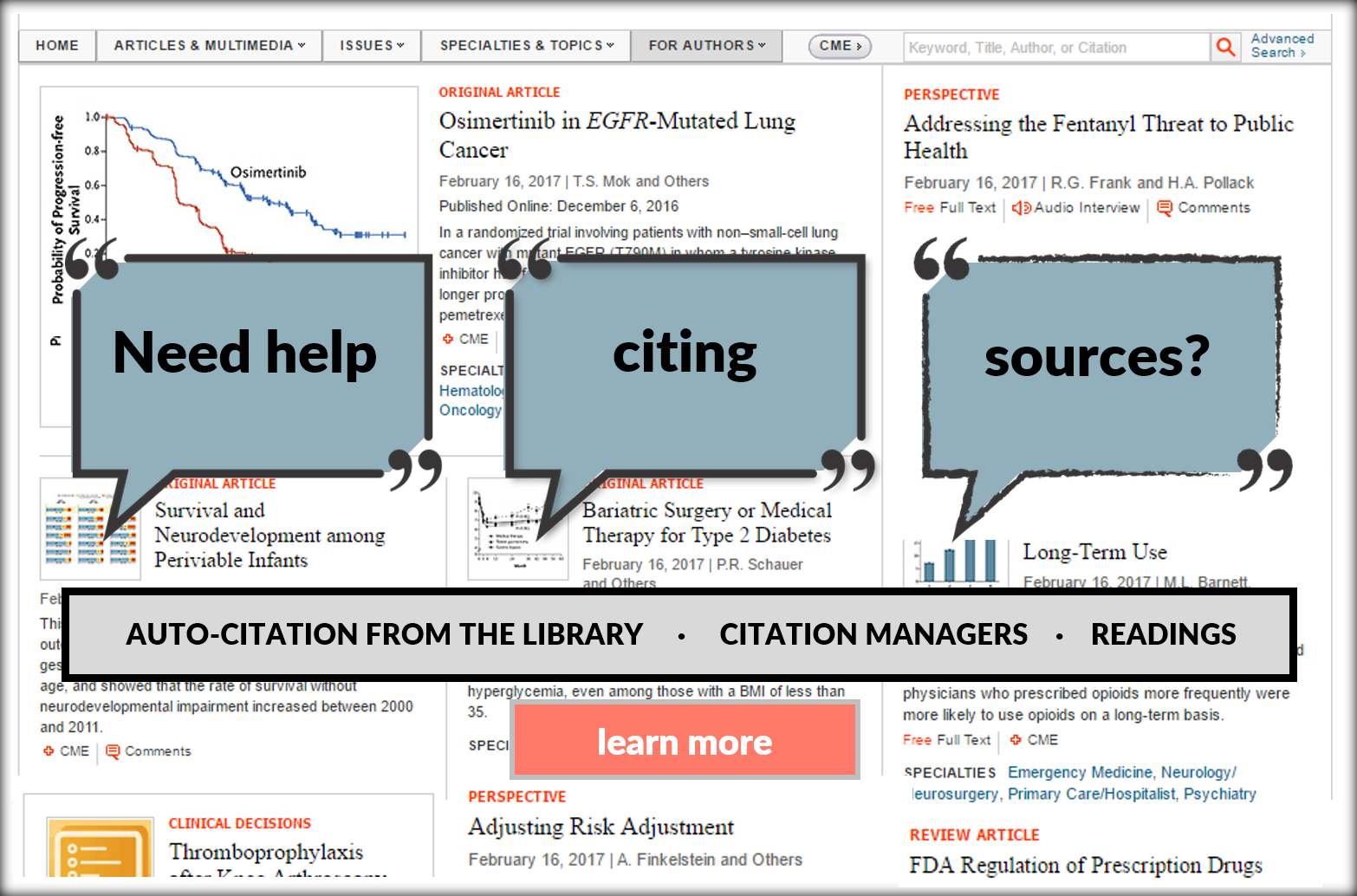 Three easy ways to cite sources