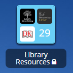 launchpad library resources icon