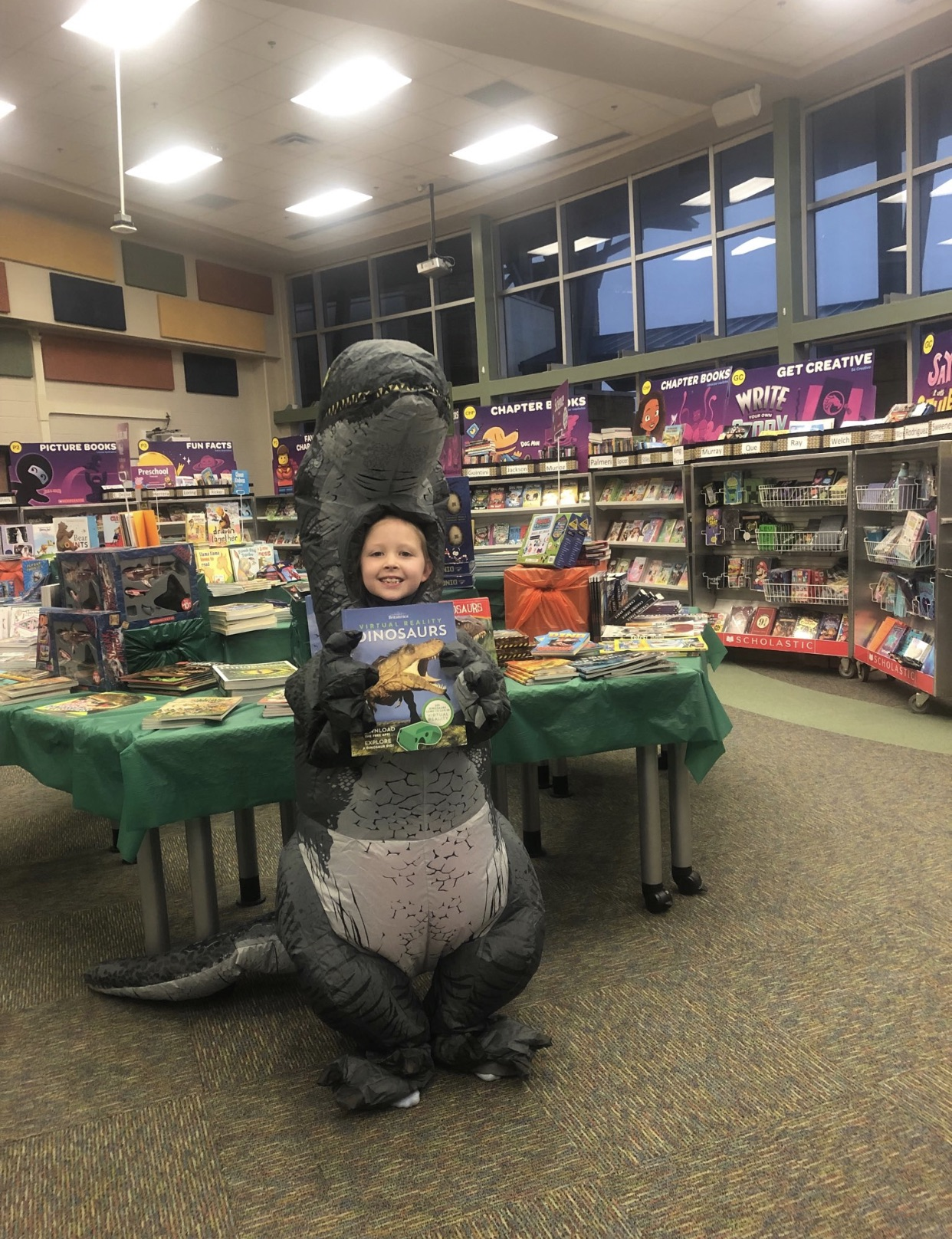 Book Fair Dinosaur