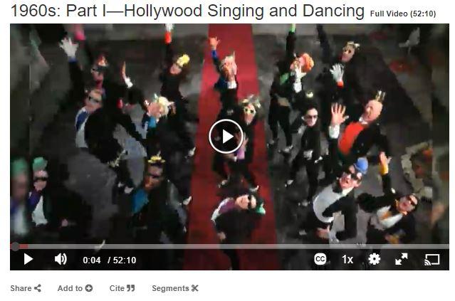 part 1 hollywood singing and dancing