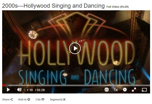 2000s hollywood singing and dancing