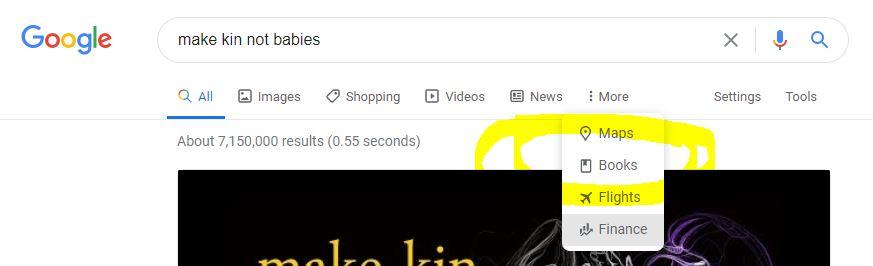 Google books option