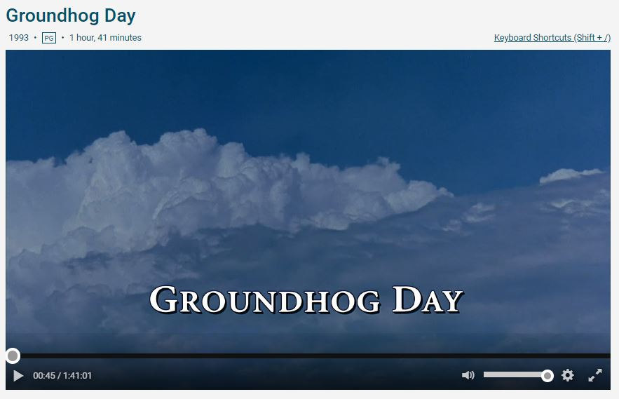 Groundhog day play