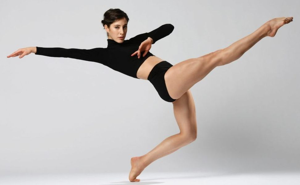 image of a posed dancer