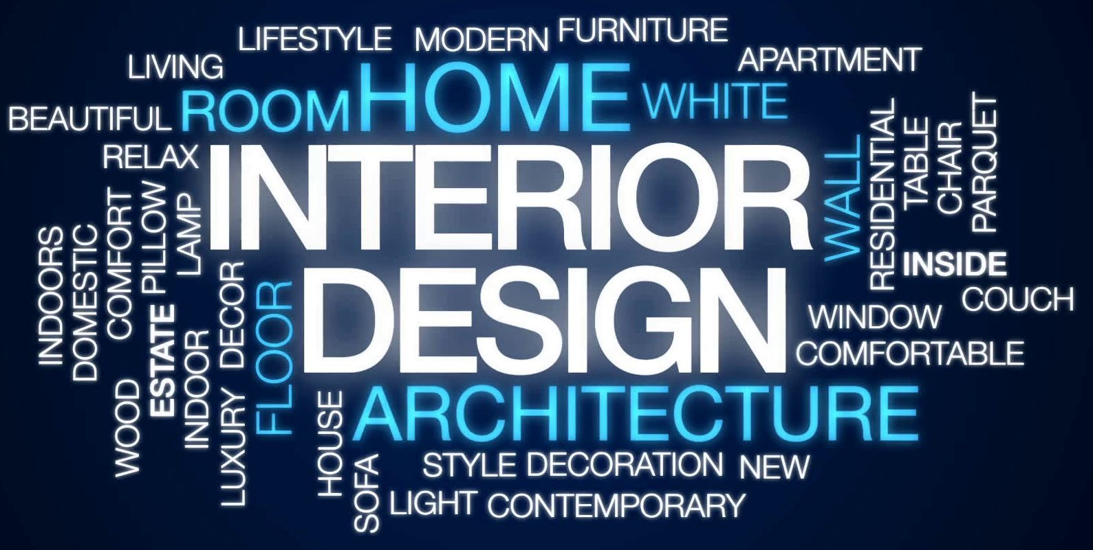 word cloud - interior design