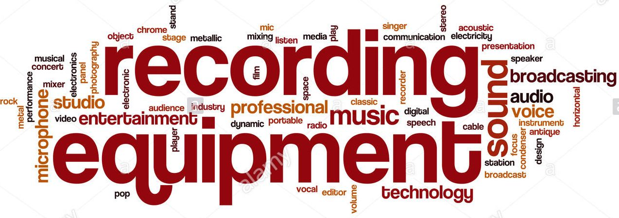 word cloud - recording