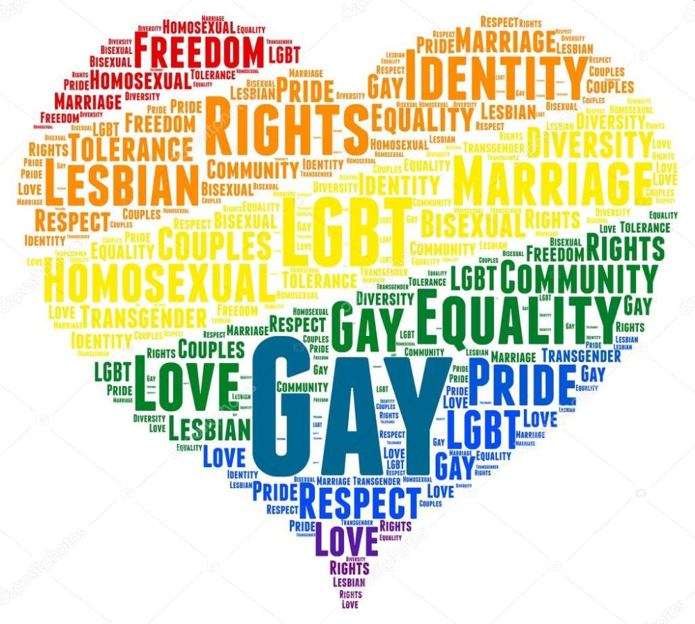 word cloud - LGBT