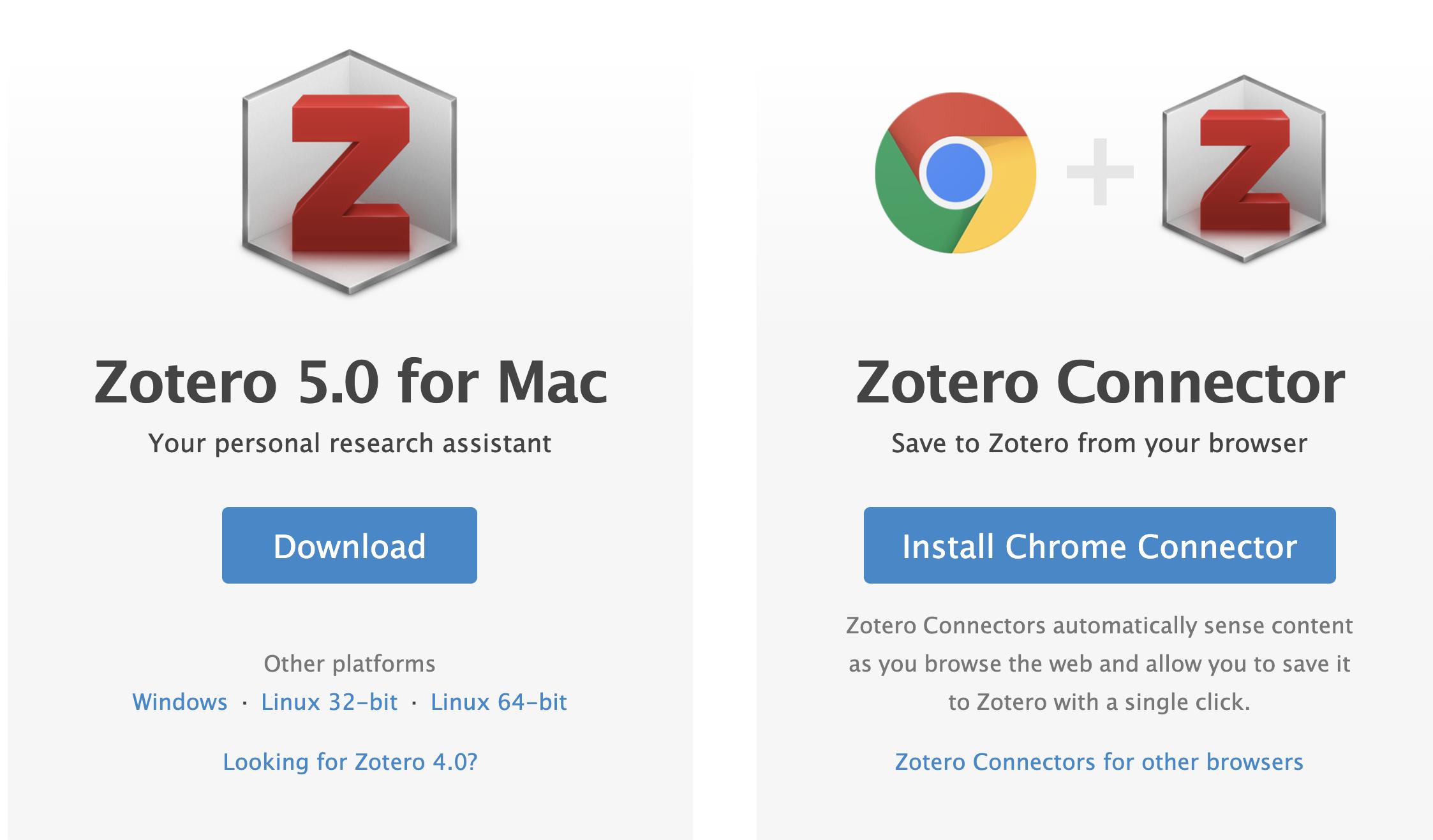 Zotero Connector Image